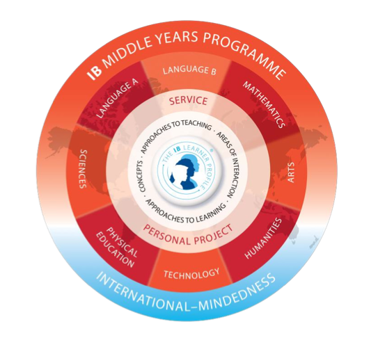 Middle primary years programme model